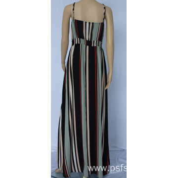 Women Strapless Long  Dress